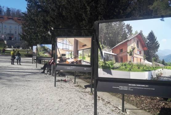 Razstava slovenske arhitekture v lesu
