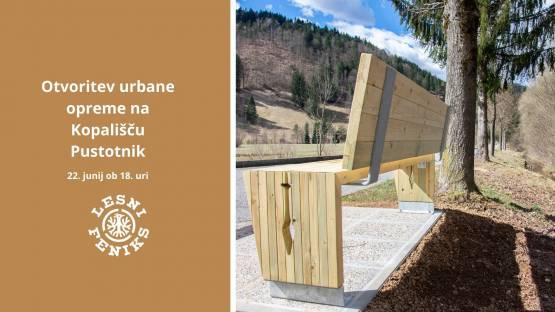 Otvoritev nove opreme na kopališču Pustotnik